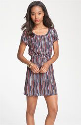Rubbish® Split Back Print Dress (Juniors)