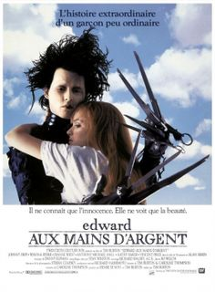 Edward Scissorhands is a 1990 American romantic fantasy film directed by  Tim Burton and starring Johnny Depp. 2528106ae9e