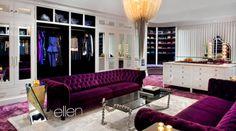 Jennifer Hudson's closet