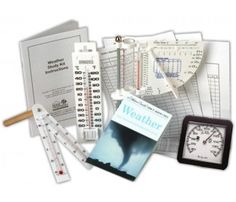 Weather Study Kit. This educational weather kit can be used to keep track of the daily weather as a complete unit study or for developing a science fair project.