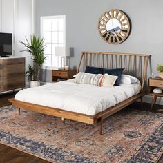 32 Stunning Platform Bed Ideas You Must Have - Searching for a new platform bed? Here are some interesting things you can look for when shopping for a platform bed frame. Not all of these options m. Diy Platform Bed, Upholstered Platform Bed, Queen Platform Bed Frame, Modern Platform Bed, Queen Bed Frames, Rustic Platform Bed, Platform Bed Designs, Lit Plate-forme Diy, Bedroom Furniture