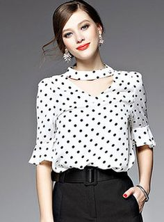 Women's blouses new collection online,shirts & blouses for women-EZPOPSY Blouse And Skirt, Long Blouse, Black Blouse, Stylish Tops For Women, Girly Girl, African Blouses, Indian Gowns Dresses, Black White Fashion, Work Fashion