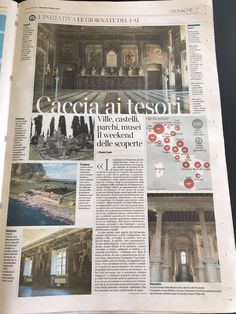 La Misericordia di Venezia is chosen among the Italian treasures open to the public during the Spring Day by FAI - Fondo Ambiente Italiano, today on Il Corriere della Sera