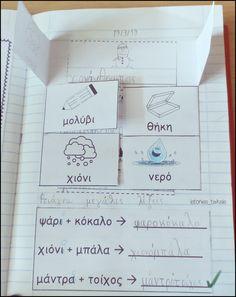 First Grade, Grade 1, Second Grade, Greek Language, School Staff, Taxi, Grammar, Bullet Journal, Classroom