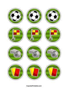 Círculos. Fútbol.