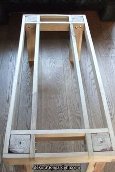Pallet furniture plans step by step Pottery Barn 33 ideas, . - Pallet furniture plans step by step Pottery Barn 33 ideas, … Pallet furnitur - Easy Woodworking Projects, Diy Wood Projects, Woodworking Plans, Workbench Plans, Woodworking Shop, Woodworking Machinery, Workbench Top, Woodworking Classes, Popular Woodworking