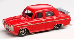 Brooklin Models Lansdowne 1/43 scale model of the1955 Ford Prefect Pro Street Hot Rod diecast in white metal with photo-etched details. £64.99