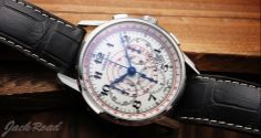 LONGINES  Heritage Telemeter Chronograph / Ref.L2.780.4.18.2 #luxurywatch #longines #chronograph longines chronograph Swiss Watchmakers  Pilots Divers Racing watches #horlogerie @calibrelondon