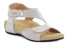 Taos Rita sandals with two adjustable hook and loop closures for a secure and personalized fit.!