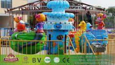 Swing Rotating Plane Rides - Kiddie Amusement Rides For Sale - Amusement Park Rides for Sale