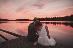 lake side wedding in Finland edpeers.com