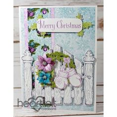 Heartfelt Creations - White Christmas Gate Project