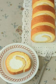 「ミルキーロールケーキ」kaiko | お菓子・パンのレシピや作り方【cotta*コッタ】