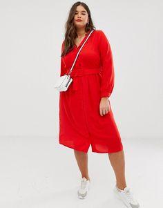 7e742b44b687 Vero Moda Curve shirt dress   ASOS Plus Size Fashion For Women, Plus  Fashion,