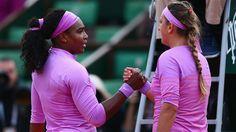 5/30/15 Via Sports Center: 2-Time #RolandGarros Champion Serena Williams wins battle against Victoria Azarenka, 3-6, 6-4, 6-2 to reach 4th round of the French Open.