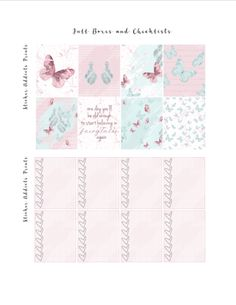 Free Printable Fairytales Planner Stickers from Sticker Addicts Anonymous
