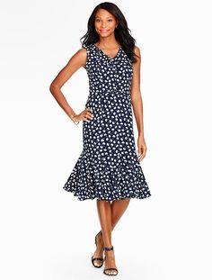 Femine & flattering: shop our Dandelion Puffs Dress.