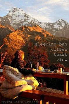 can't tell you how many times! bundled warm, steaming coffee, brisk air. takes my breath away thinking about it. : )