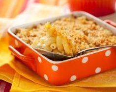 Gratin de macaronis à l'édam : http://www.cuisineaz.com/recettes/gratin-de-macaronis-a-l-edam-8401.aspx