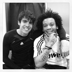 [April 7th 2012] Kaká and Marcelo #Kaka #RicardoKaka #Marcelo #MarceloVieira #Madrid #RealMadrid
