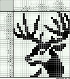 quilting like crazy Tapestry Crochet Patterns, Crotchet Patterns, Bead Loom Patterns, Weaving Patterns, Crochet Deer, Pixel Crochet, Beaded Cross Stitch, Cross Stitch Embroidery, Hand Embroidery