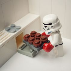 """""""Imperial Cupcakes"""" by Mike Stimpson - Photographer of Plastic #Legos"""