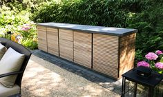 CUBIC Outdoor-Sideboard Outdoor Grill, Outdoor Furniture, Outdoor Decor, Outdoor Storage, Sideboard, Outdoor Living, Garden, Image, Home Decor