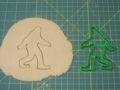 Bigfoot/Sasquatch Cookie/Fondant Cutter