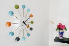 Часы Ball Clock Джордж Нельсон 1948-1960