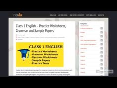 CBSE CLASS 1 WORKSHEETS Worksheets For Class 1, Grammar Worksheets, Class 1 English, Model Question Paper, Sample Paper, Class 8, Social Studies, Pdf, Student