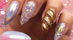 Feast Your Eyes On These Unicorn Nails