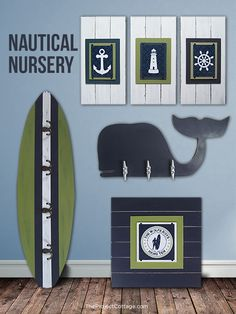 Project Nursery - The Project Cottage Nautical Nursery Decor