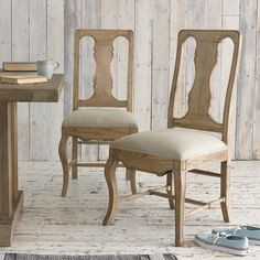 PARIS Dining Chair | Loafhome ~ We don't like using f-words in general but with these puppies we'll use several: farmhouse, French, flexible and fabulous. Enough said.