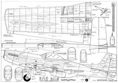 The Mustang Stunt Al Rabe is one of the model airplane plans available for download and printing.