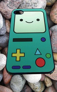 Adventure time Beemo for iPhone 4/4s, iPhone 5/5S/5C/6, Samsung S3/S4/S5 Unique Case *99*