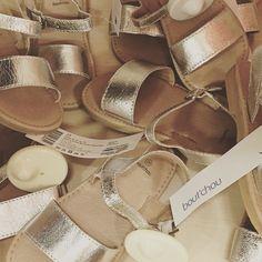 """A pile of gorgeous metallic girls sandals...#Monoprix #boutchou #kidsstyle #paris #littlespree #cheapchic"" Photo taken by @littlespree on Instagram, pinned via the InstaPin iOS App! http://www.instapinapp.com (05/18/2015)"