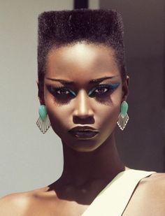 african high fashion | Style Vintro: KATE MENSON GOES HIGH FASHION