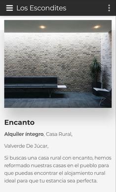 Alquiler íntegro Casa Rural Valverde De Júcar Si buscas una casa rural con encanto, hemos reformado nuestras casas en el pueblo para que puedas encontrar el alojamiento rural ideal para que tu estancia sea perfecta.
