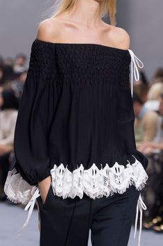 Chloé at Paris Fashion Week Spring 2016 - Livingly                                                                                                                                                                                 More