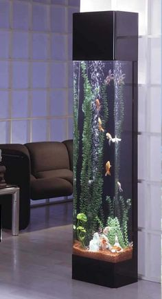Midwest Tropical Rectangle Aqua 30 Gallon Tower Aquarium - The Rectangle Aqua Tower is your slice of underwater heaven, looking as if you reached in and pulled out a five foot sample of paradise. Aquarium Design, Aquarium Mural, Aquarium Fish Tank, Aquarium Ideas, Fish Aquarium Decorations, Aquarium Stand, Aquarium Kit, Cool Fish Tanks, Amazing Fish Tanks
