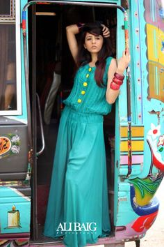 Maverick Casual Fashion Fo Jumpsuits for Pakistani Girls 005