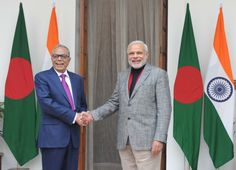 PM's meeting with H.E. Md. Abdul Hamid, President of Bangladesh