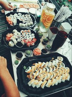 Image de sushi, food, and yummy