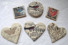Tips for stamping on polymer clay