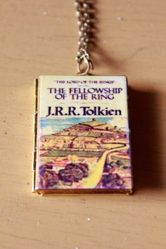 junkstudio at etsy //   Lord of the Rings Locket - Pendant with Chain
