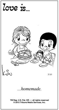Love Is Cartoons by Kim | Love Is ... Comic Strip by Kim Casali (March 10, 2012)