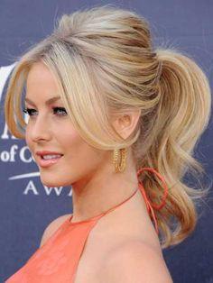 Celebrity ponytails - Cosmopolitan