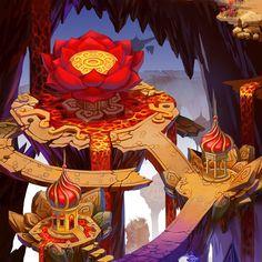 Map 05, Saceya Zhang on ArtStation at http://www.artstation.com/artwork/map-05