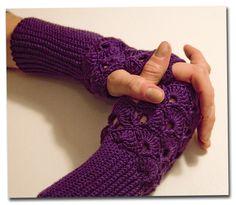 19 Besten Häkeln Bilder Auf Pinterest Fingerless Gloves