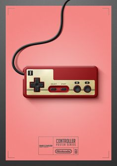 — it8bit:   Controller Poster Series  Created...